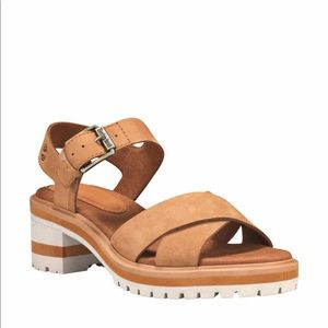 NWT Timberland Violet Marsh Leather Sandals